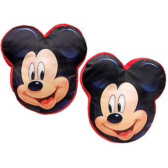 Mickey Mouse velour pude