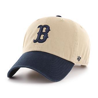 47 mærke Boston Red Sox to Tone oprydning Cap - Khaki