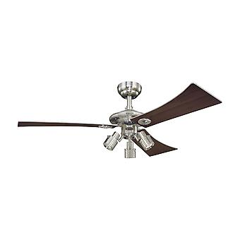 Westinghouse ceiling fan Audubon nickel 122 cm / 48