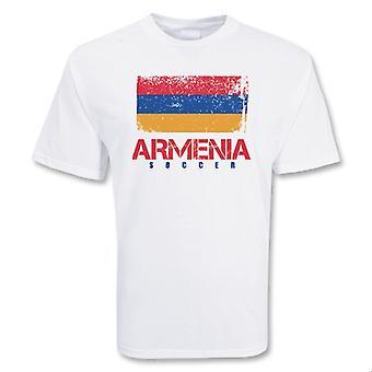 Armenia Soccer t-skjorte