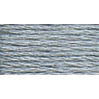 DMC 6-Strand Embroidery Cotton 100g Cone-Steel Grey Light