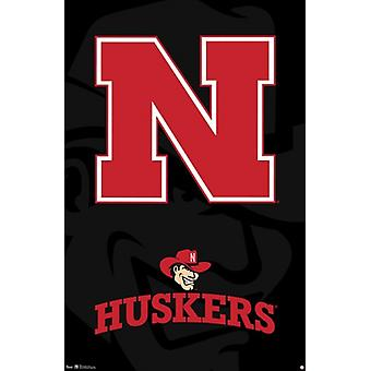 University of Nebraska - Logo 13 Poster Print