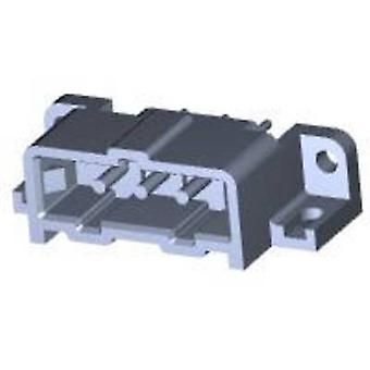 TE Connectivity Pin enclosure - PCB Metrimate Total number of pins 3 Contact spacing: 5 mm 207365-7 1 pc(s)