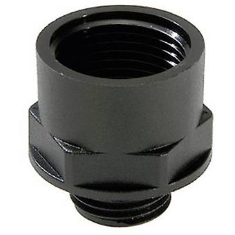 Cable gland extension M12 M16 Polyamide Black (RAL 9005) Wiska ATEX EX-KEM 12/16 1 pc(s)