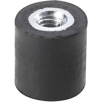 Screw buffer Internal thread M4 Height 10 mm PB Fastener 110540 1 pc(s)