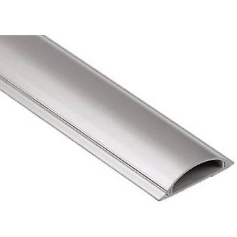 Hama Trunking PVC Silver Rigid (L x W x H) 1000 x 70 x 21 mm 1 pc(s) 00020618