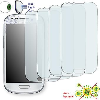 Samsung I8190 Galaxy S3 mini La fleur Edition display protector - Disagu ClearScreen protector (deliberately smaller than the display, as this is arched)