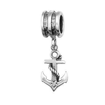 Anker - 925 Sterling sølv Jewelled perler - W29222X