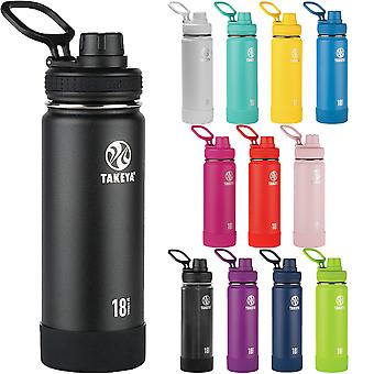 Takeya Actives 18 oz. Insulated Stainless Steel Water Bottle