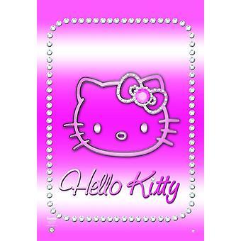 Hello Kitty Poster Bling