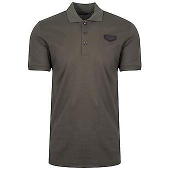 Antony Morato Antony Morato Khaki Patch Logo Polo Shirt