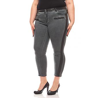 B.C.. best connections simple skinny jeans plus size grey