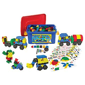 Morphun Educational Advanced Building Bricks Set (500 Pieces) Construction