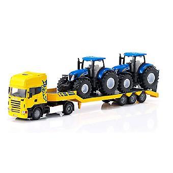 Siku 1984 vrachtwagen met traktoren