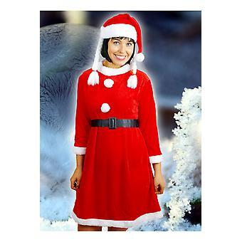 Infantiles disfraces vestido niñas de Navidad