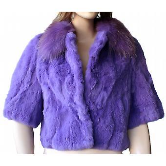Waooh - pels - ræv og kanin pels jakke