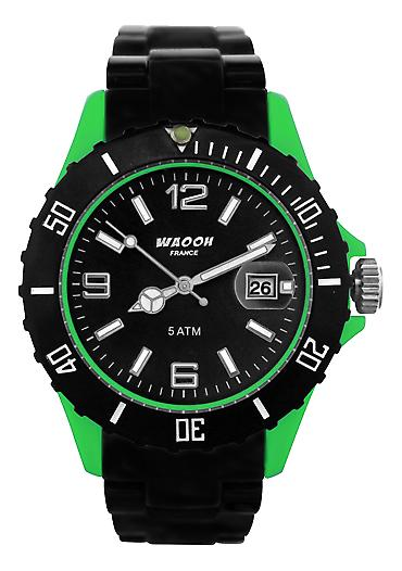 Waooh - Watch MILANO38 Black Box Color