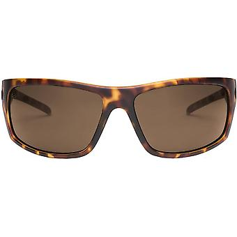 Electric California Tech One XL Sunglasses - Matte Tortoise Shell/Ohm Bronze