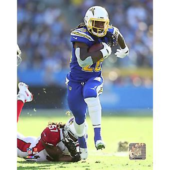 Melvin Gordon 2018 Action Photo Print