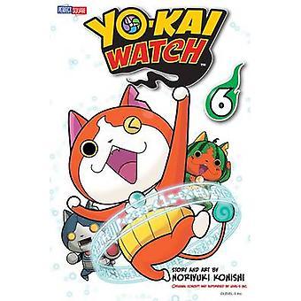 Yo-Kai Watch - Volume 6 by Noriyuki Konishi - Noriyuki Konishi - 97814