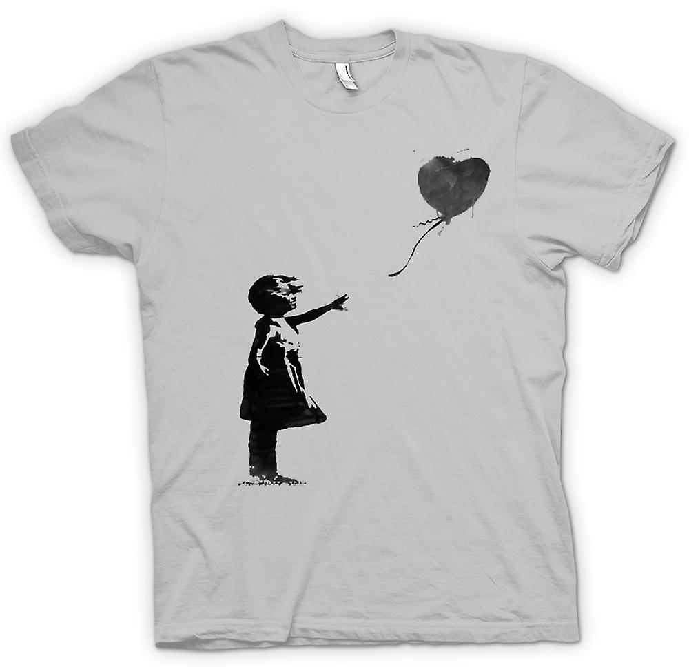 T-shirt des hommes - Art Banksy Graffiti - Balloon