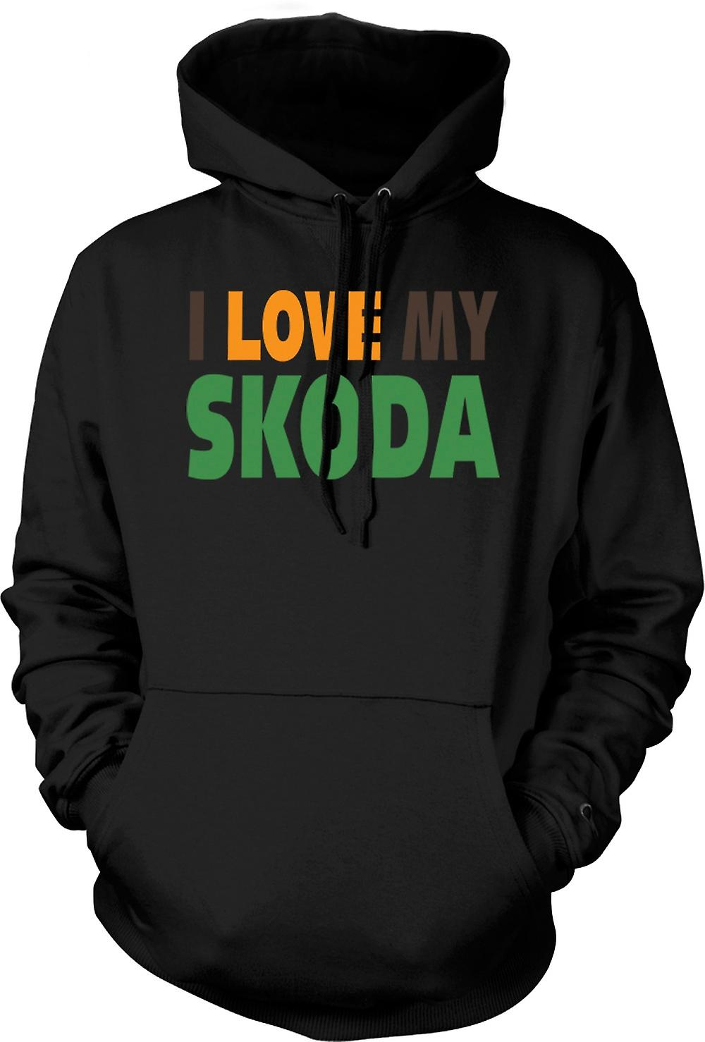 Kids Hoodie - I Love My Skoda - Car Enthusiast