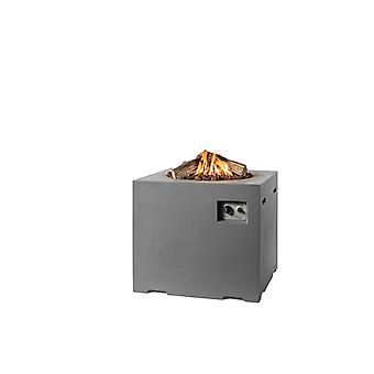 Happy Cocooning tuinhaard vierkant 76x76xH67 cm - antraciet