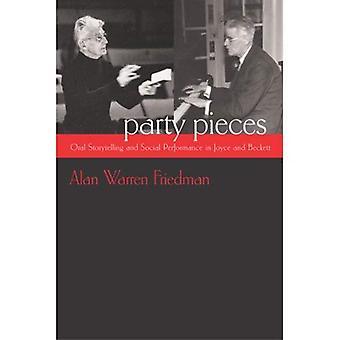 Impreza sztuk: Ustne opowieści i odpowiedzialność społeczna w Joyce i Beckett (irlandzki badania)