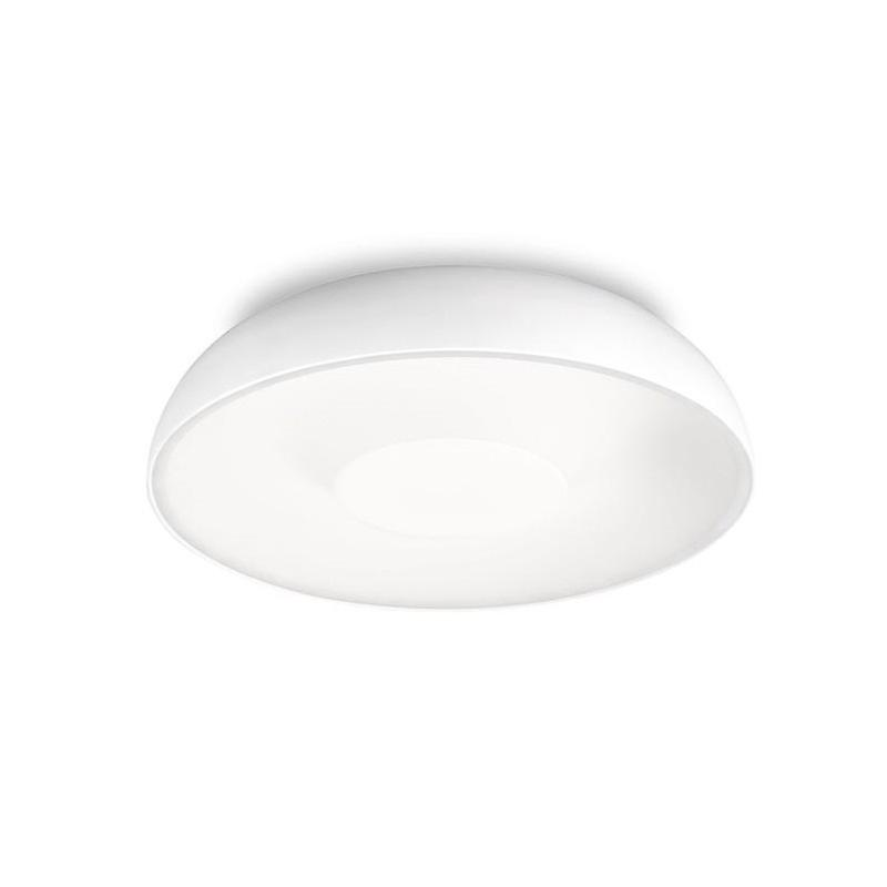 1 Light Small Ceiling Flush Light blanc