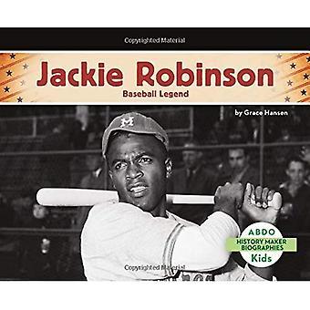 Jackie Robinson: Baseball Legend (History Maker Bios (Lerner))