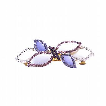 Amethyst Crystals Hair Barrette Trendy For Yourself Or Perfect Gift
