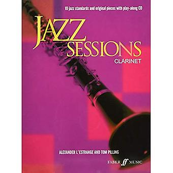 Jazz Sessions klarinet-Music boek met Cd