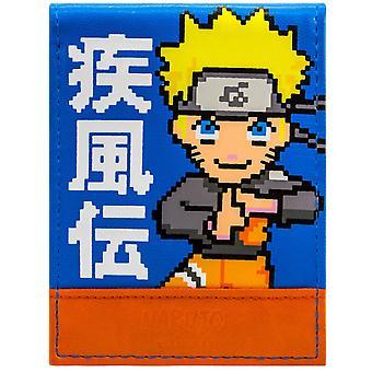Naruto Shippuden 16bit-Retro-Ninja-ID & Karte Bi-Fold Geldbörse