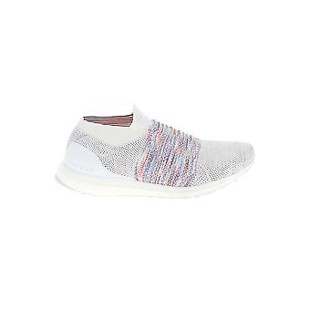 Adidas White Synthetic Fibers Sneakers