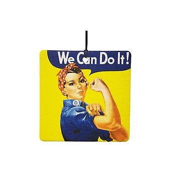 Rosie Riveter We Can Do It Car Air Freshener