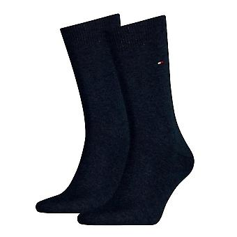 Tommy Hilfiger 2 Pack Classic Sock - Jeans