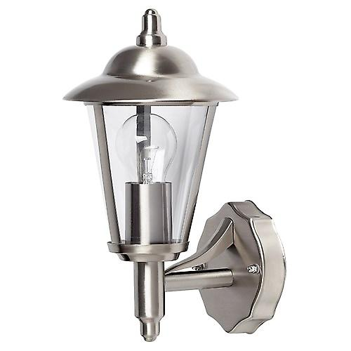 Endon YG-862-SS Modern Stainless Steel Outdoor Up Wall Lantern