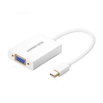 UGREEN Mini Display Port to VGA+Audio Converter Cable-Aluminium Case