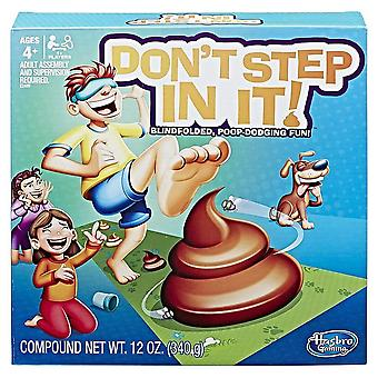 Hasbro Gaming Don't Step in It Board Game