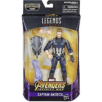 Marvel Legends Series, Thanos Del 1 - Captain America 15 cm