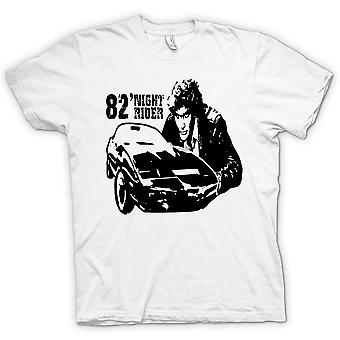 Herre T-shirt - Knight Rider 82 - Trans Am - Retro