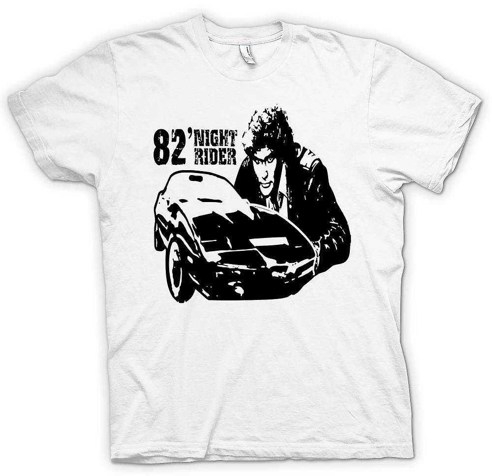 T-shirt dos homens - Knight Rider 82 - Trans Am - Retro