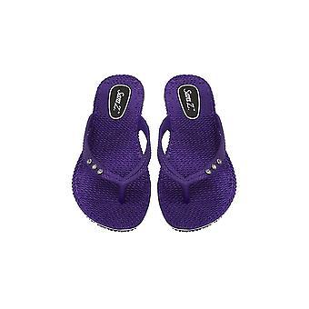 Sara Z dames comfort flip flops met strass