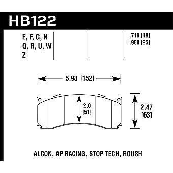Hawk performance HB122G. 710 DTC-60