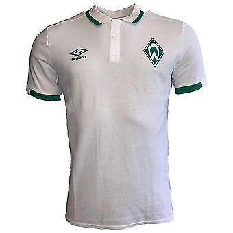 2019-2020 Werder Bremen Umbro CVC Polo Shirt (White)