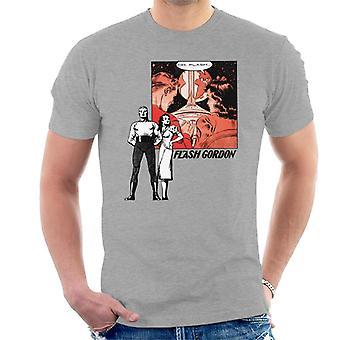 Flash Gordon Couple Montage Men's T-Shirt