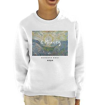 A.P.O.H Munch Momento Mori Kid's Sweatshirt
