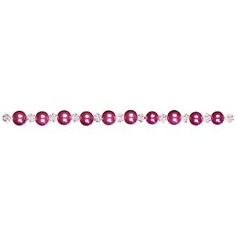 Jewelry Basics Pearl Crystal Bead Mix 6Mm 101 Pkg Pink Jbmix6mm 2037