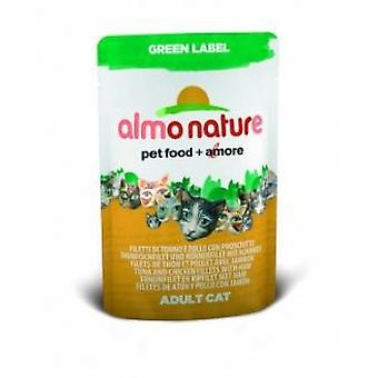 Almo nature Chicken And Tuna Steaks (Cats , Cat Food , Wet Food)