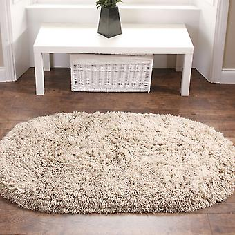 Rainbow Shaggy Washable Rugs In Beige